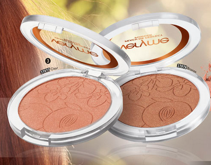 ORIFLAME VERY ME- Peach Me Pressed Powder(Bronze)- Swatch & Review