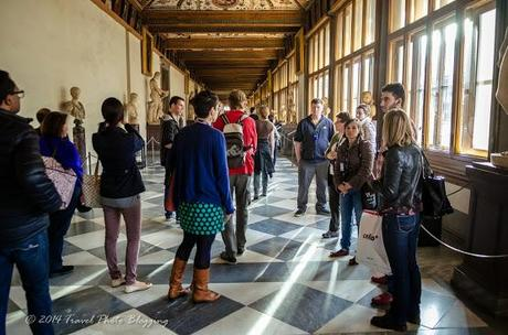 When to visit Uffizi gallery?