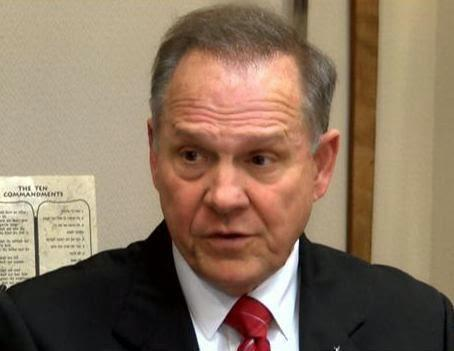 Roy Moore hardly is alone when it comes to ignoring federal authority in courthouses across Alabama