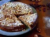 Walnut, Pecan Cranberry Cake