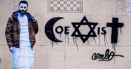 Combo's Coexist street art