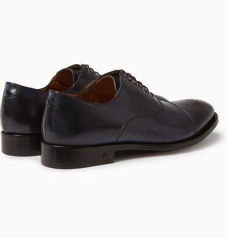In The Navy:  Paul Smith Berty Leather Brogues