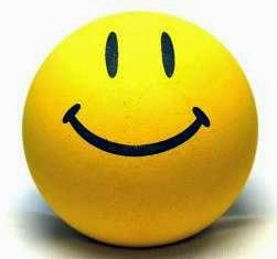 use Smileys ..... Smile at people and be cheerful !!