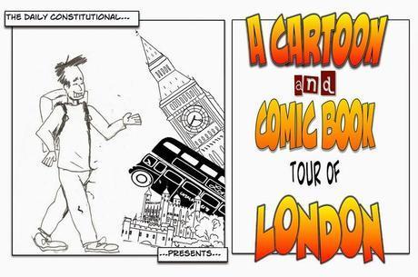 A Cartoon & Comic Book Tour of #London No.14: V For Vendetta