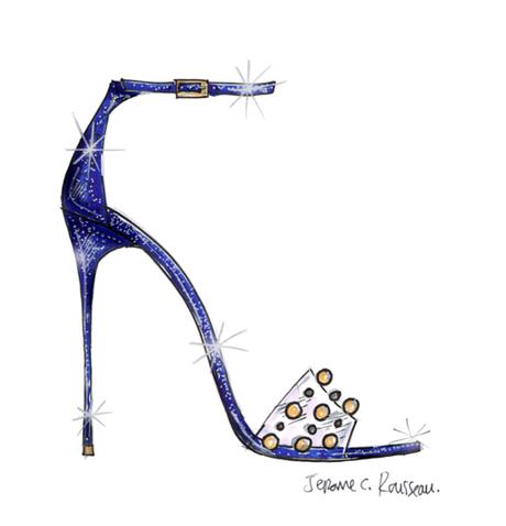 Jerome C Rousseau Cinderella Shoe