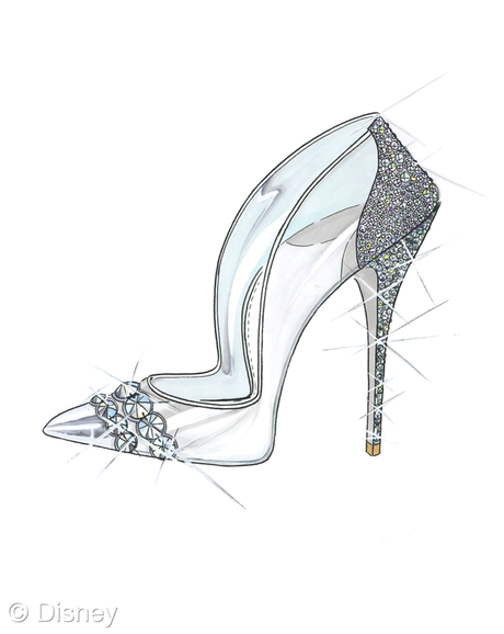 Paul Andrew Cinderella Shoe
