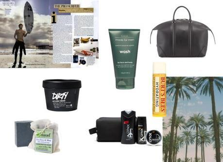 Travel Beauty For Your Man And His Man Bag