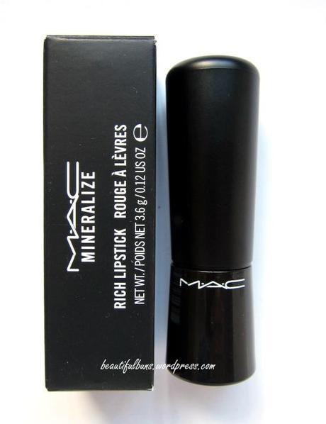 MAC Mineralize Rich Lipstick Be A Lady (1)