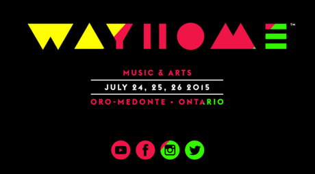 WayHome Festival 2015 Announcement.