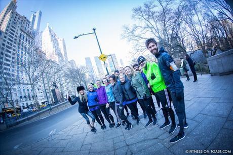 Fitness On Toast Faya Blog Girl New York USA Adidas Ultra Boost Launch Central Park-8