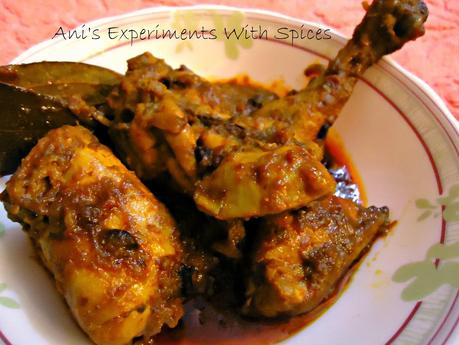 Chicken Kosha (Spicy Bhuna Chicken)