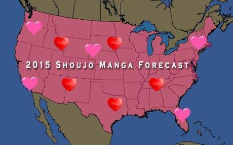 shoujo manga forecast 2015