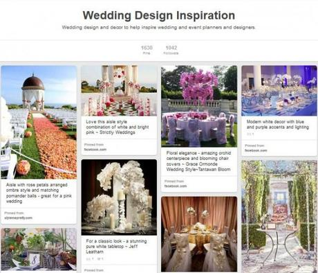 4 Ways Wedding Planners Can Get More Clicks, Repins and Brides on Pinterest