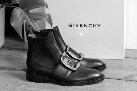 Givenchy Tina chelsea buckle boots