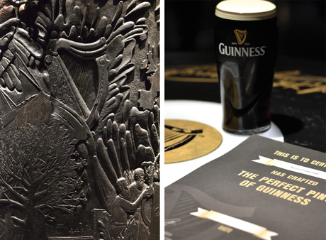 Guinness, storehouse, test, diploma, crafting beer, irish beer, harp, logo