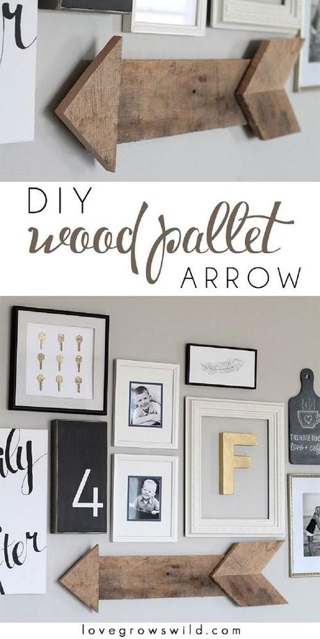 15 DIY Wedding Projects with Arrows