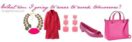 Throwback Thursday: Professional in Pink, Shoe Along and Statement Necklaces