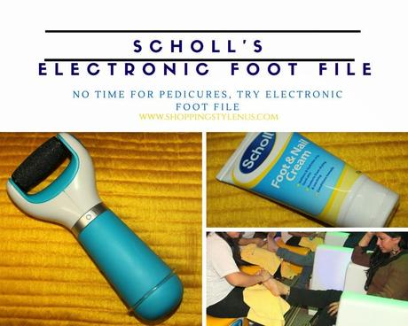 No Time To Get Pedicures In Salon? Try Scholl Express Pedi Electronic Foot-File