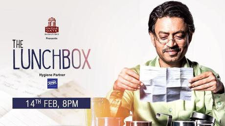 The Lunchbox premieres on Feb 14th - the perfect movie to watch on Valentine's Day