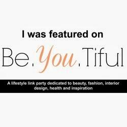 Be. YOU. Tiful Link Party #57