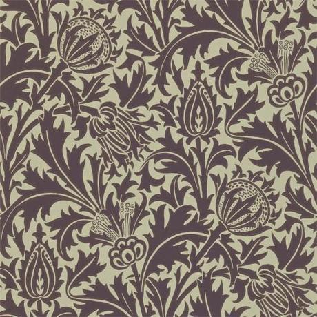 william-morris-thistle-wallpaper