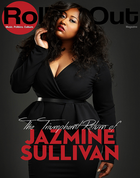 Jazmine Sullivan Covers Rolling Out Magazine