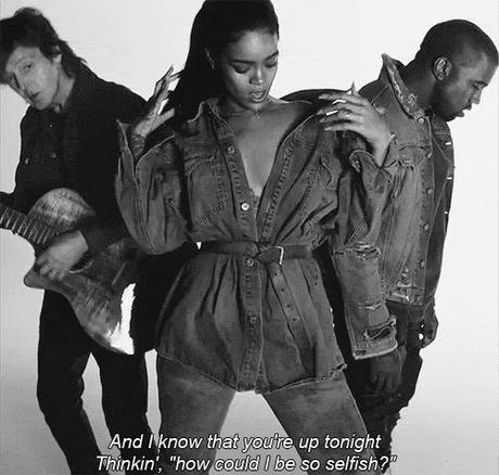 "Kanye West Talks Rihanna, ""FourFiveSeconds"""