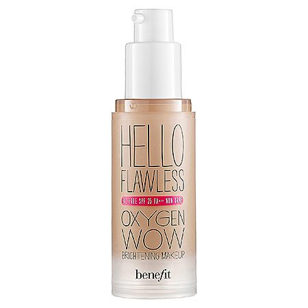 Benefit - Cosmetics 'Hello Flawless' Oxygen Wow Liquid Foundation 'I'm All The Rage' Beige 1 oz