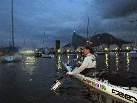 Freya Hoffmeister Reaches Rio in South American Circumnavigation Kayak Expedition