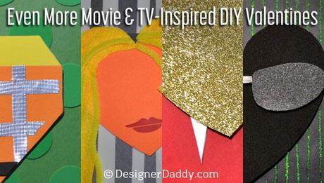 movie and tv-inspired diy valentines