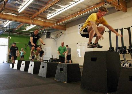 plyometrics jumpbox exercise