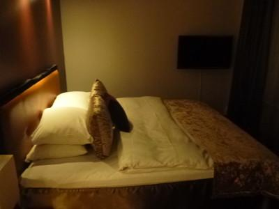 Bedroom: My spacious room at the Clarion Collection Christiania Teater Hotel