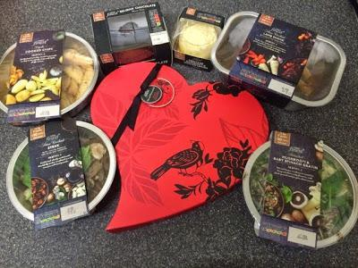Today's Review: Tesco Finest Valentine's Dinner For Two: Savoury