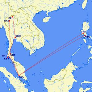 For The Full Listing Of Flights And Corresponding Credits As Well Mechanics Airasia Asean Travel P