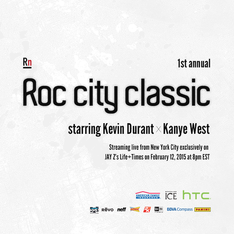 Roc City Classic LIVE STREAM Starring Kevin Durant X Kanye West
