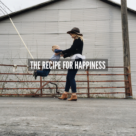 My Recipe For Happiness