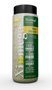 Xiomega3 White Chia Seed Review #X3WhiteChia
