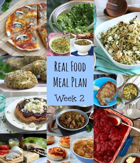 Our Real Food Meal Plan – Week 2 2015