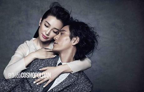 Eye Candy : Li BingBing & Chen Kun for Cosmopolitan