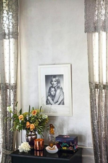 Kate Moss's Home In Vogue UK