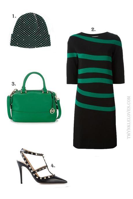 Outfit Ideas: Valentines Green
