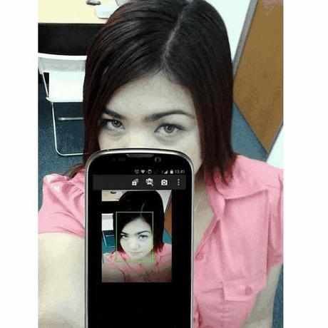 selfie app for back camera phones