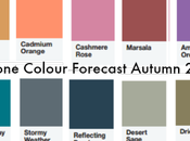 Pantone Colour Forecast Autumn/Winter 2015