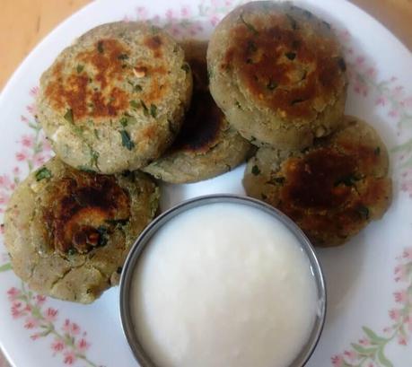 sweet potato patties with water chestnut flour