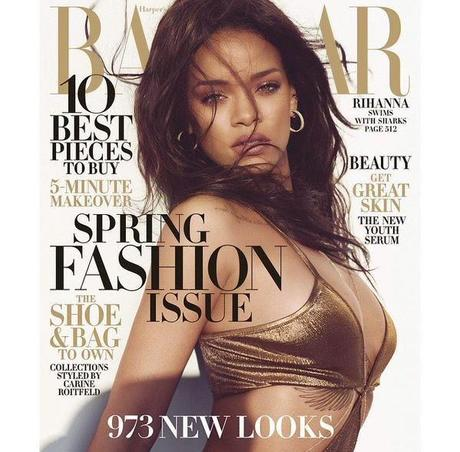 Rihanna for Harper's Bazaar Russia Cover+ Video