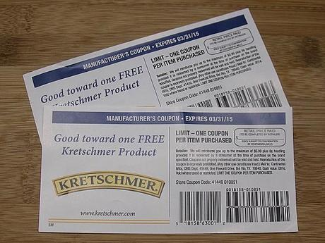 kretschmer coupon