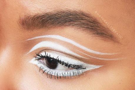 Sugarpill Tako, White Eyeliner Makeup