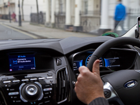 City Driving on Demand and Car Sharing with Ford