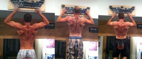 R to L: Me, Adam Papilion, Brad Jackson. Summit Strength Training, summer 2012.