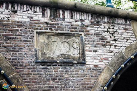 1728 Bridge in Amsterdam
